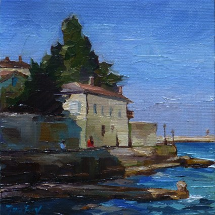 """Poreč"" original fine art by Jurij Frey"