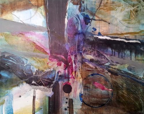 """Discordant Dreams"" original fine art by Becky Chappell"
