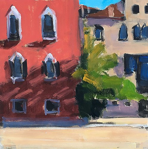 """Campo in Venice"" original fine art by Kevin Inman"