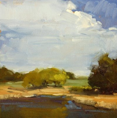 """Johnson Pond"" original fine art by Laurel Daniel"