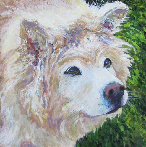 """Braden"" original fine art by Patricia MacDonald"