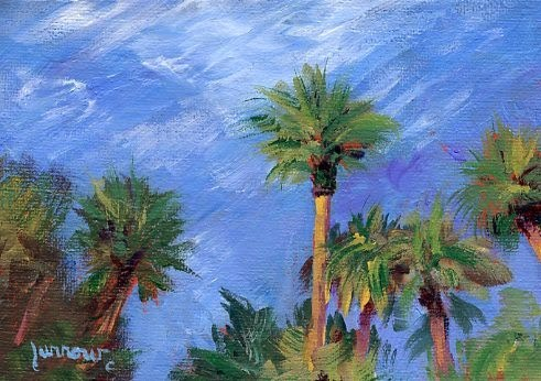 """Cathie's Vista in Paradise"" original fine art by Sue Furrow"
