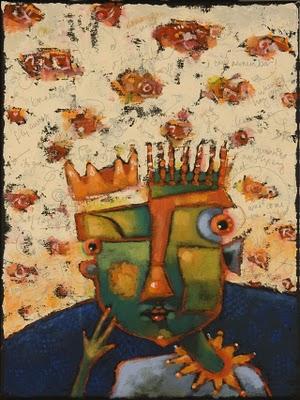 """Brain Vapors"" original fine art by Brenda York"