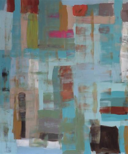 """Turquoise Metaphor"" original fine art by Angele Sage"
