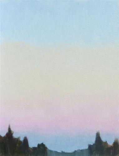 """The Cloudless Sky"" original fine art by Bobbi Heath"