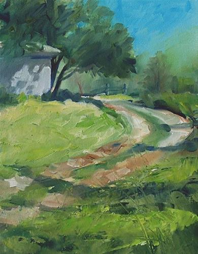 """Path to the Barn"" original fine art by Michael Holter NWS"