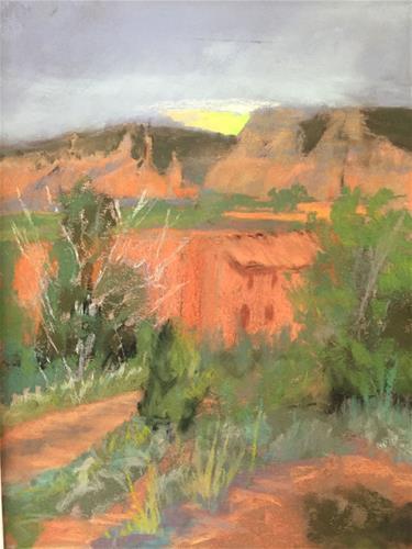 """Sedona Red Rocks"" original fine art by Mary Weil"