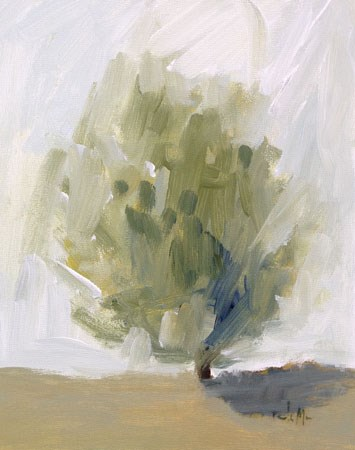 """Spring Tree"" original fine art by Pamela Munger"