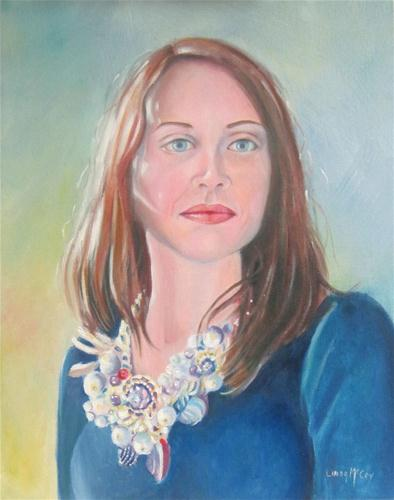 """Julie"" original fine art by Linda McCoy"