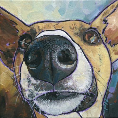"""Paisley"" original fine art by Nadi Spencer"