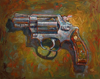 """.38 Special"" original fine art by Raymond Logan"