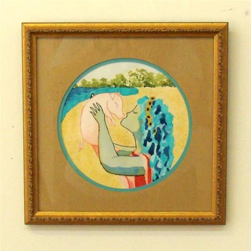 """Circe Study"" original fine art by Bonnie Fillenwarth"