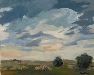"""May Sky II"" original fine art by Pamela Munger"