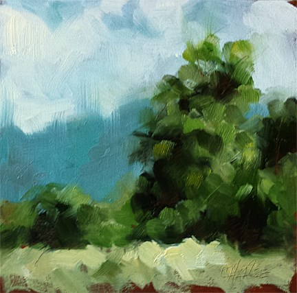 """Loosely Summer"" original fine art by Cindy Haase"