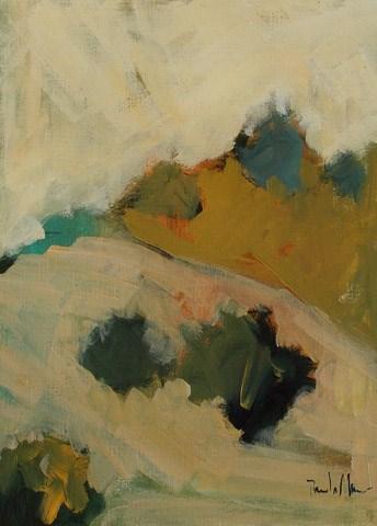 """Desert Hillside"" original fine art by Pamela Munger"
