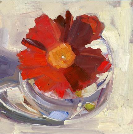 """""""Sit #969"""" original fine art by Lisa Daria"""