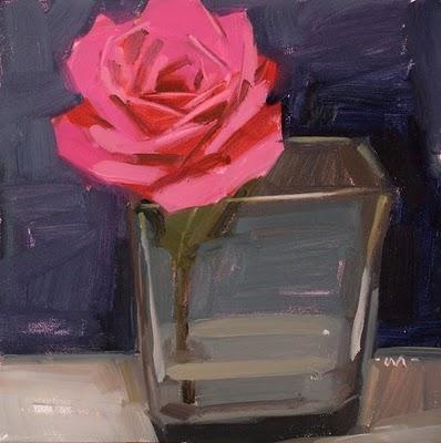 """""""Pink Drink"""" original fine art by Carol Marine"""