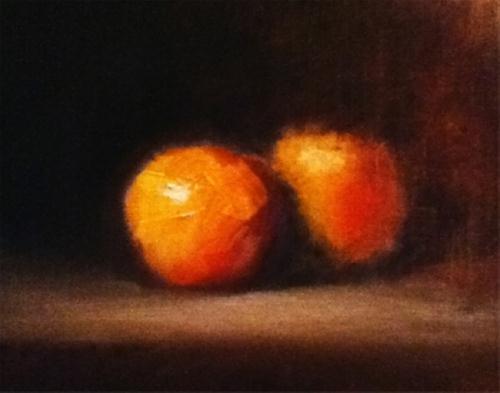"""""""Romance"""" original fine art by Neil Carroll"""