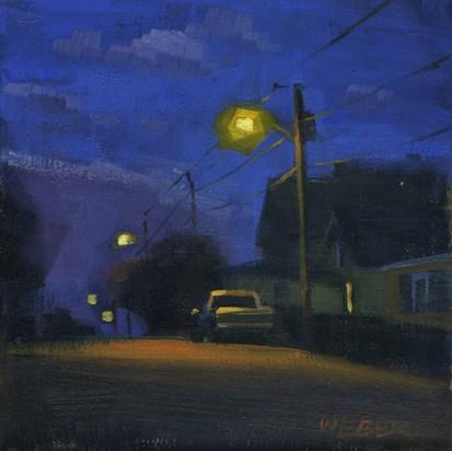 """Tony's truck"" original fine art by Kathy Weber"