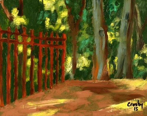 """Austin Spring Light"" original fine art by Donna Crosby"