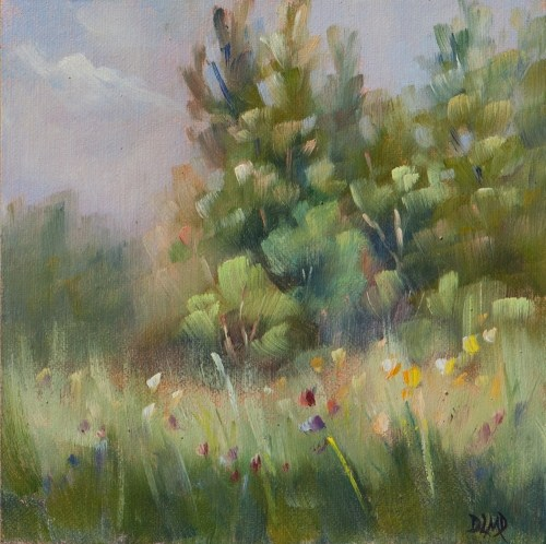 """Diary of a Plein Air Painter #16"" original fine art by Debbie Lamey-Macdonald"