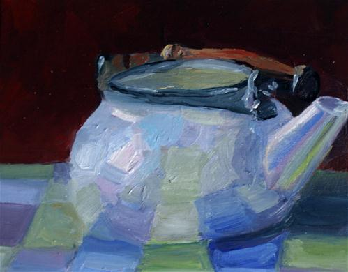 """Tempest in a Teapot"" original fine art by Kristen Dukat"
