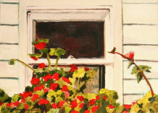 """The Simple Life"" original fine art by JoAnne Perez Robinson"