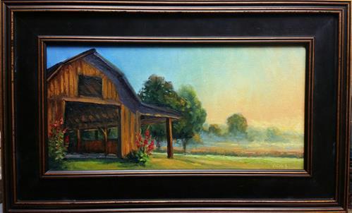 """Sanders Sunrise"" original fine art by Veronica Brown"