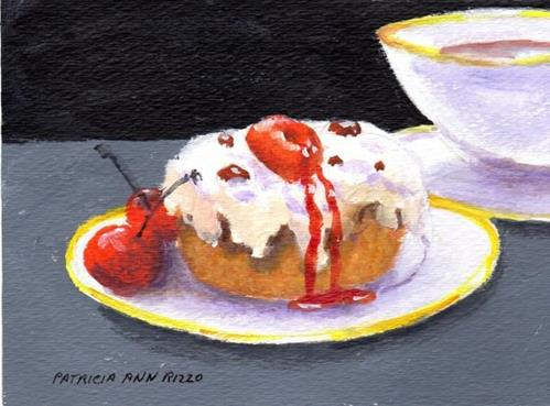 """Sweet Treat"" original fine art by Patricia Ann Rizzo"