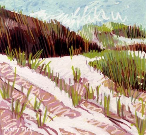 """brackley beach"" original fine art by Mary Firth"
