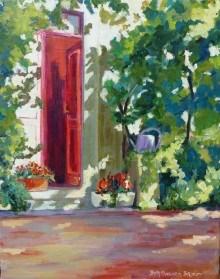 """Atelier Cezanne"" original fine art by Beth Carrington Brown"