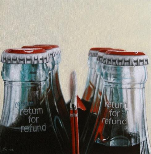 """Return For Refund"" original fine art by Jelaine Faunce"