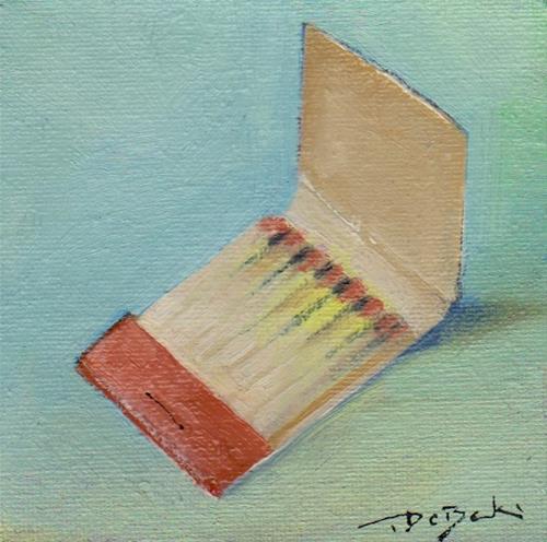 """""""matches"""" original fine art by V. DeBak"""