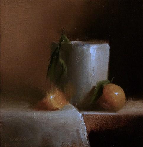 """""""White Pot"""" original fine art by Neil Carroll"""
