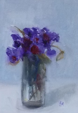 """sweet"" original fine art by Pamela Munger"