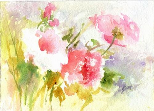 """Sweet and Light"" original fine art by Sue Dion"
