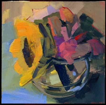 """""""2285 Venus Across the Ocean"""" original fine art by Lisa Daria"""