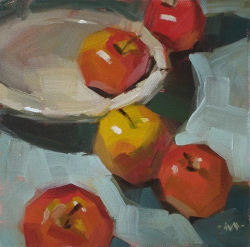 """Disperse"" original fine art by Carol Marine"