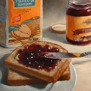 """Marmalade"" original fine art by Michael Naples"