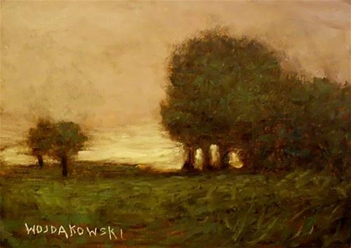 """Tree grouping"" original fine art by Joe Wojdakowski"