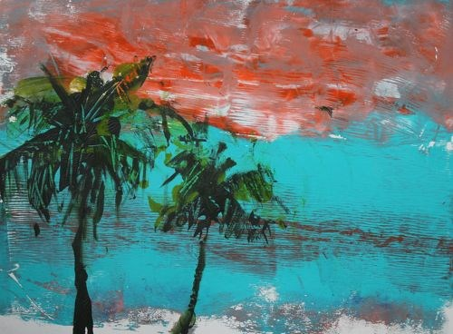 """Hawaii Dreams, Beach and Ocean Paintings by Amy Whitehouse"" original fine art by Amy Whitehouse"