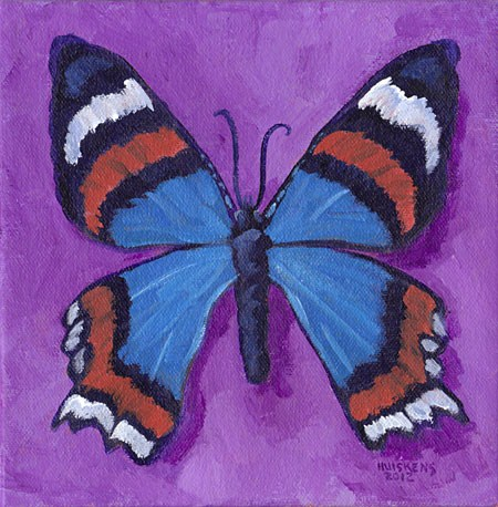 """Butterfly No. 14"" original fine art by Randal Huiskens"