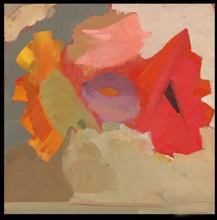 """2472 Bright Pane"" original fine art by Lisa Daria"