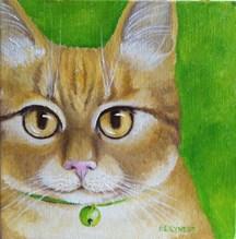 """Albert"" original fine art by Elaine Lynest"