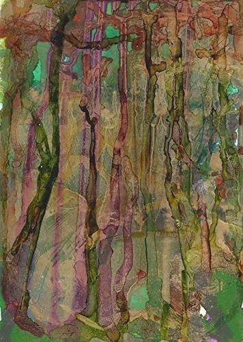 """Deep in the Swamp"" original fine art by Lou Jordan"