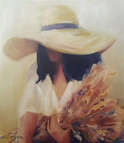 """Fresh flowers"" original fine art by Rentia Coetzee"
