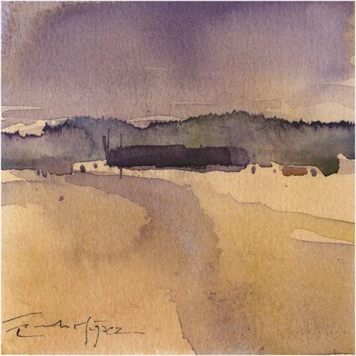 """paisaje 171"" original fine art by Emilio López"