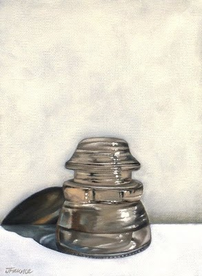 """Insulator Number One"" original fine art by Jelaine Faunce"