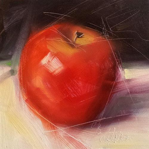 """Take a Bite"" original fine art by Cindy Haase"