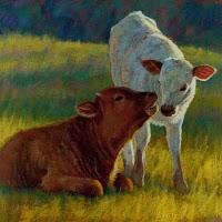 """Secrets"" original fine art by Rita Kirkman"